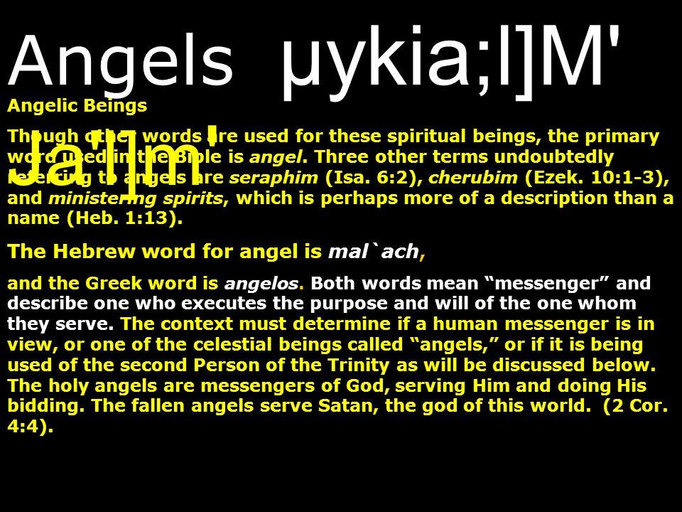 Angels µykia;l]M Ja l]m